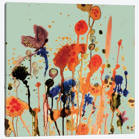 Envol 3-Piece Canvas #SDS73} by Sylvie Demers Canvas Wall Art