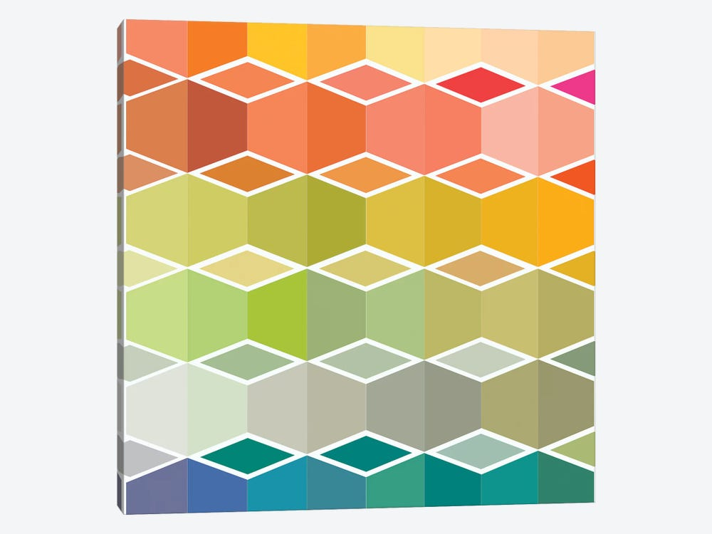 Flanneur II by Sylvie Demers 1-piece Canvas Wall Art