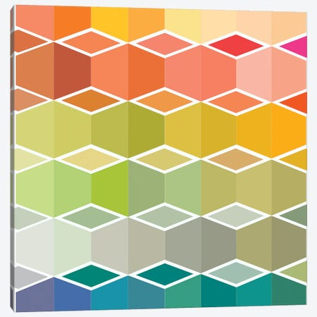 Flanneur II Canvas Print #SDS76} by Sylvie Demers Canvas Print