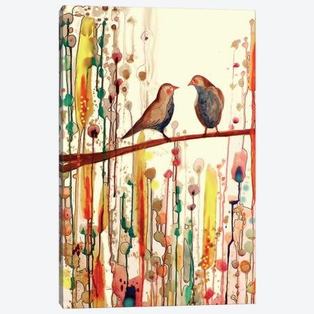 Gypsies Tap Canvas Print #SDS79} by Sylvie Demers Canvas Art
