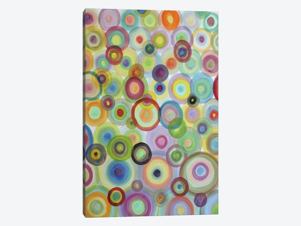 Bulles by Sylvie Demers 1-piece Canvas Artwork