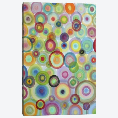 Bulles Canvas Print #SDS7} by Sylvie Demers Canvas Print