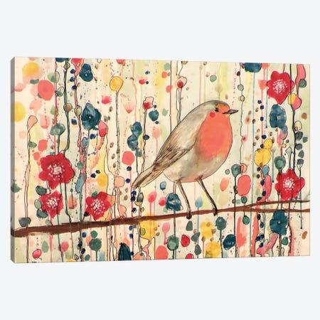 Je Ne Suis Pas Qu'Un Oiseau (In Zoom) Canvas Print #SDS81} by Sylvie Demers Art Print