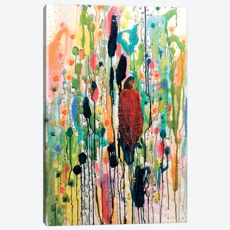 Le Coeur Boheme Gran Canvas Print #SDS84} by Sylvie Demers Canvas Art