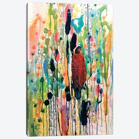 Le Coeur Boheme Gran Canvas Print #SDS84} by Sylvie Demers Canvas Art