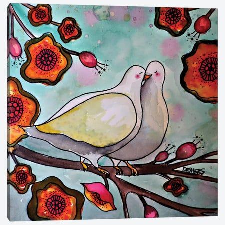 Le Temps Des Cerises Canvas Print #SDS85} by Sylvie Demers Canvas Artwork