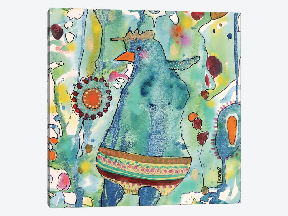 Ma Poule by Sylvie Demers 1-piece Canvas Print