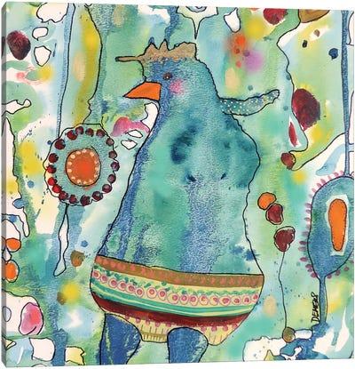 Ma Poule Canvas Art Print
