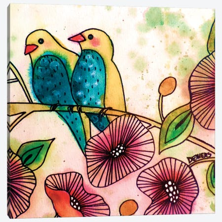 Ou Que Tu Sois Tap Canvas Print #SDS90} by Sylvie Demers Canvas Wall Art