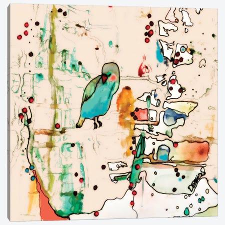 Palm Spring Canvas Print #SDS91} by Sylvie Demers Canvas Artwork