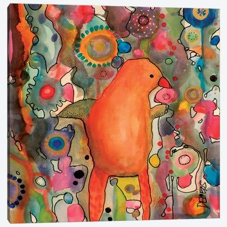 Primerose Canvas Print #SDS93} by Sylvie Demers Canvas Artwork