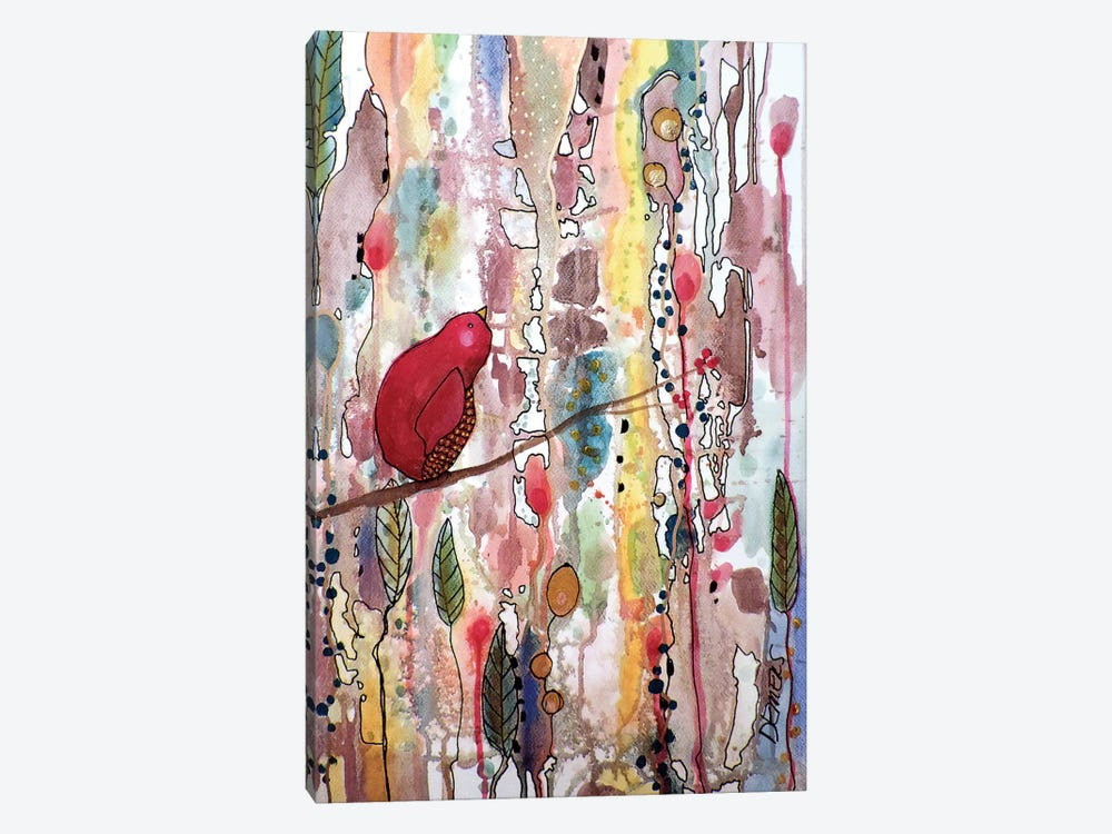 Rever Le Temps by Sylvie Demers 1-piece Canvas Print
