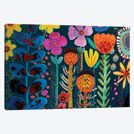 Silk Road Canvas Print #SDS97} by Sylvie Demers Canvas Art Print