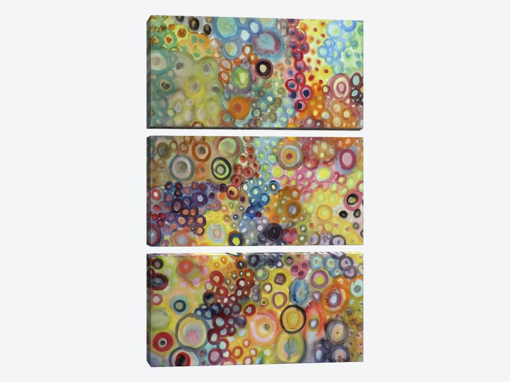 Cellulaires by Sylvie Demers 3-piece Canvas Artwork