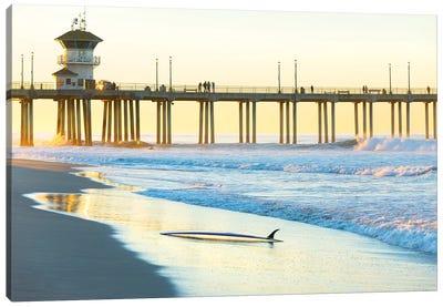 Huntington Beach Pier Canvas Art Print