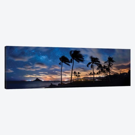 Mokolii Stars Canvas Print #SDV143} by Sean Davey Canvas Wall Art