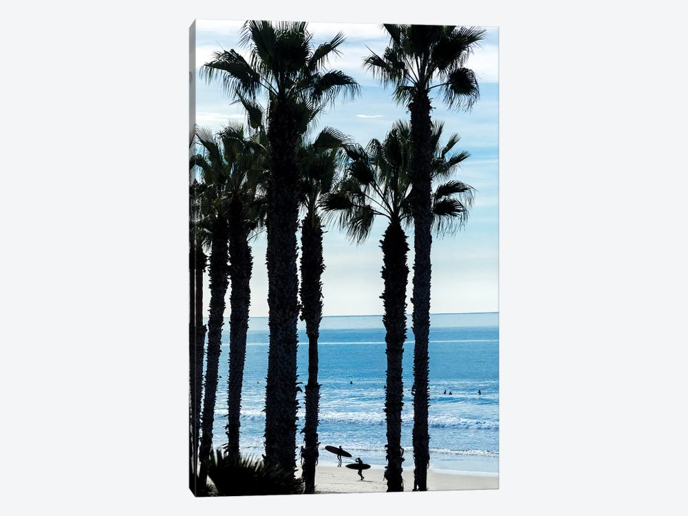 Oceanside Silhouettes by Sean Davey 1-piece Canvas Artwork