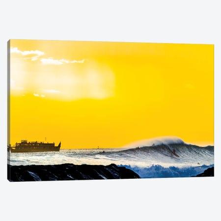 Amber Cruise Canvas Print #SDV264} by Sean Davey Canvas Artwork