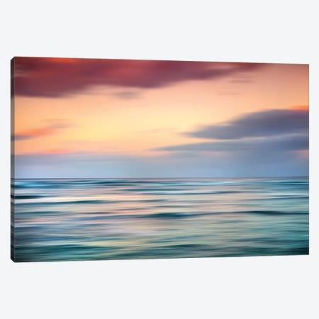 Coastal Blur Canvas Print #SDV274} by Sean Davey Canvas Print