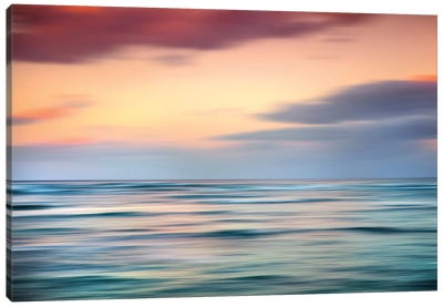 Coastal Blur Canvas Art Print