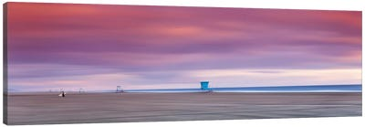Empty Lifeguard Stands Canvas Art Print