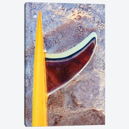 Yellow Gl Bolt 078 Canvas Print #SDV334} by Sean Davey Canvas Art