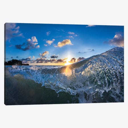 Curtain Throw Canvas Print #SDV52} by Sean Davey Canvas Print