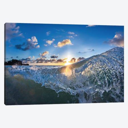 Curtain Throw Canvas Print #SDV52} by Sean Davey Canvas Print
