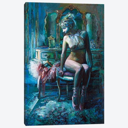 Juliette, The Ballerina Canvas Print #SEC11} by Seth Couture Art Print