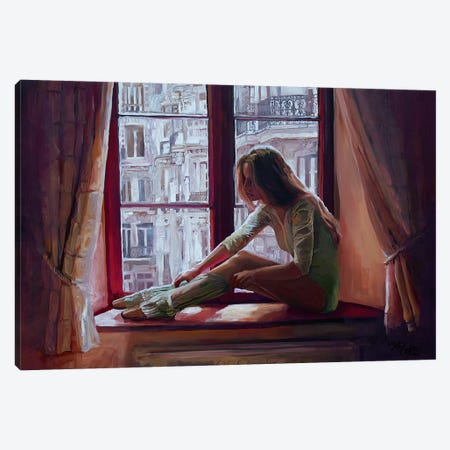 Paris Opera Canvas Print #SEC18} by Seth Couture Art Print