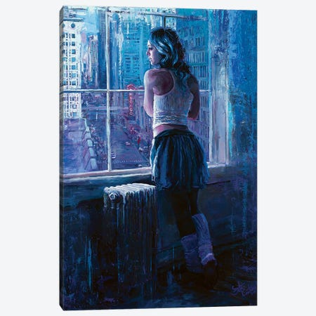 Pirouettes Over Paris On The Prairie Canvas Print #SEC19} by Seth Couture Canvas Art Print