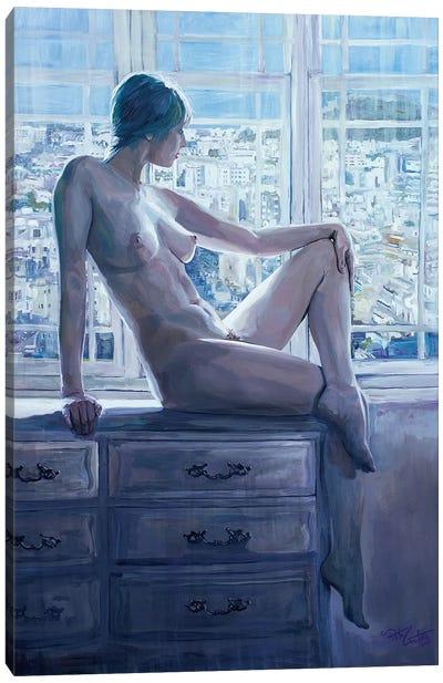 Athena's Summer Canvas Art Print