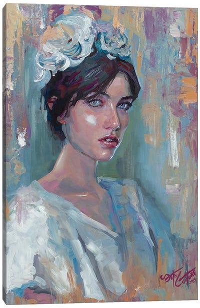 Portrait Of Adela Canvas Art Print