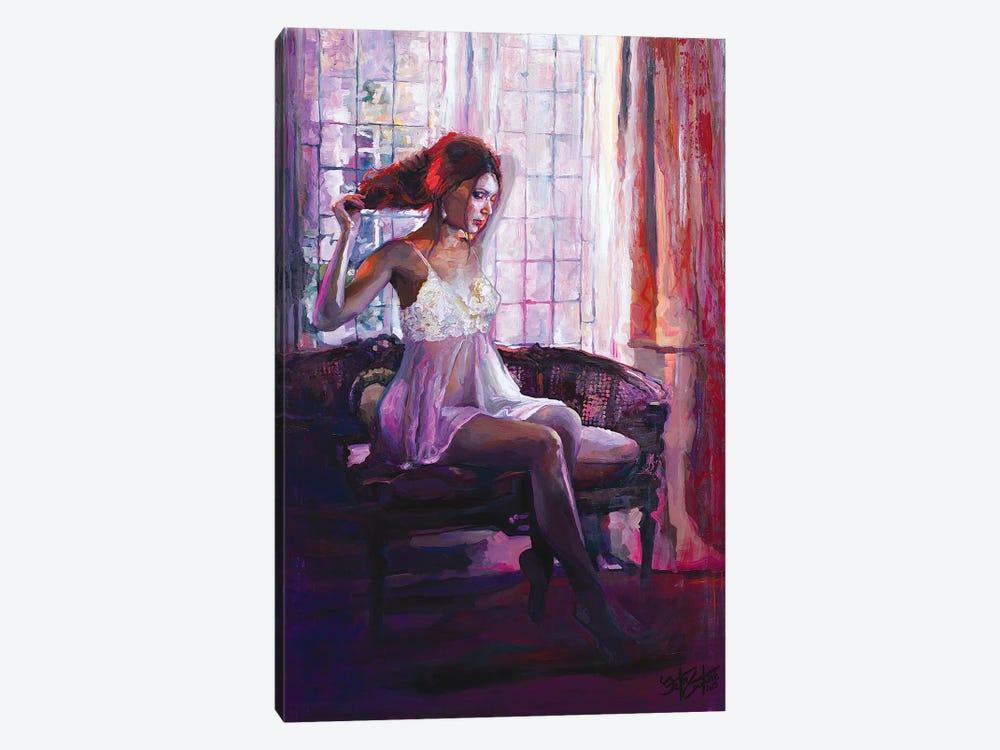 Portrait Of Dahlia by Seth Couture 1-piece Canvas Art