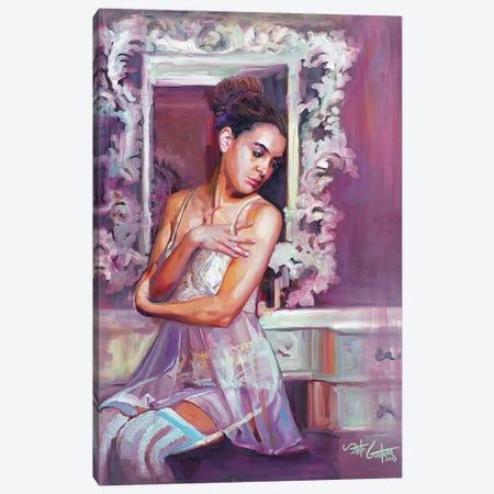 Portrait Of Dorsa Canvas Print #SEC23} by Seth Couture Canvas Art