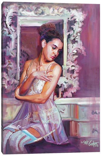 Portrait Of Dorsa Canvas Art Print