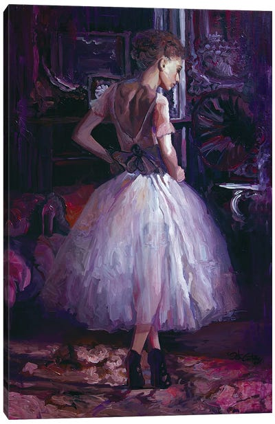 Tanaquil's Melody Canvas Art Print