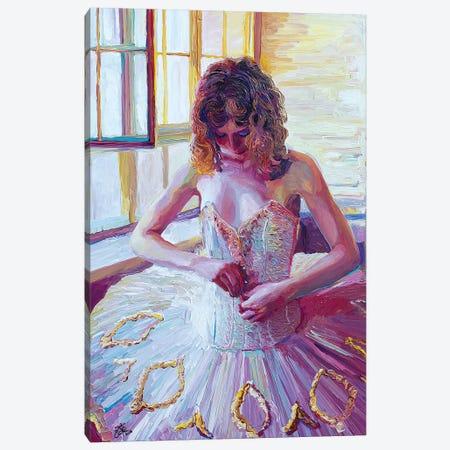 Ulanova's Tutu Canvas Print #SEC35} by Seth Couture Canvas Wall Art