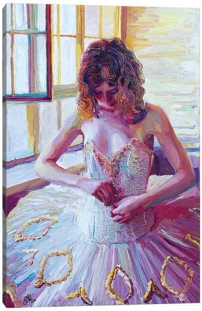 Ulanova's Tutu Canvas Art Print