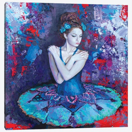 Colors Of Don Quixote, Svetlana As Kitri Canvas Print #SEC3} by Seth Couture Canvas Artwork