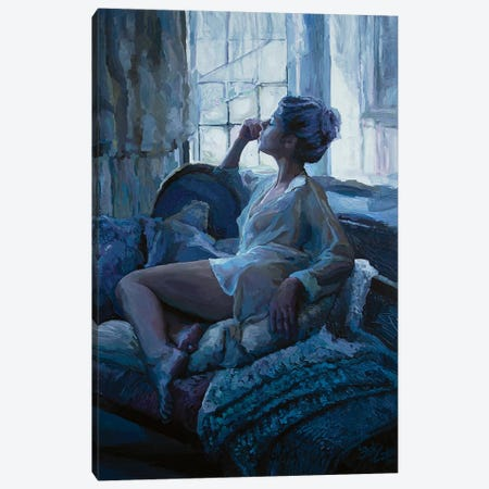 Eleanor And The Window Canvas Print #SEC5} by Seth Couture Canvas Art Print