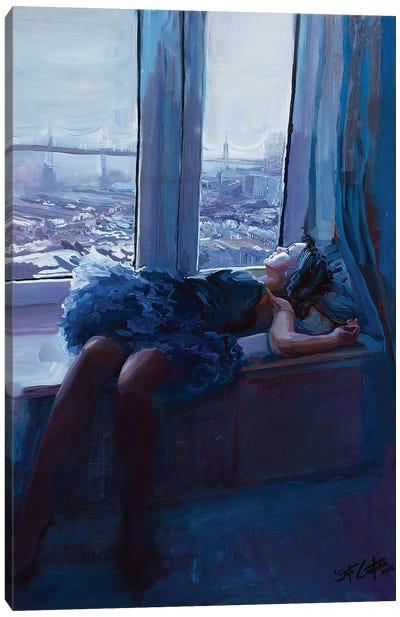 Eliana By The Bay Canvas Art Print