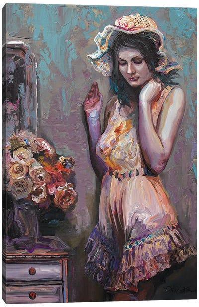 Flowers For Rosemary Canvas Art Print
