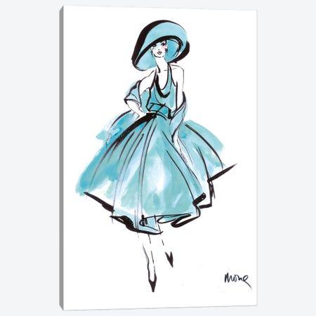 Indigo Eve Canvas Print #SED1} by Mona Shafer-Edwards Art Print
