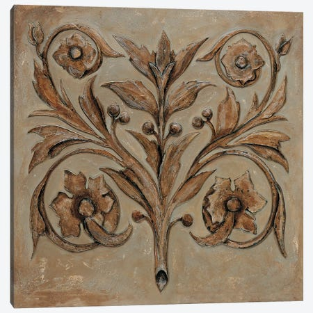 Decorative Scroll I Canvas Print #SEG1} by Pablo Segovia Canvas Artwork