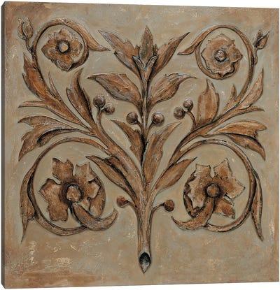 Decorative Scroll I Canvas Art Print
