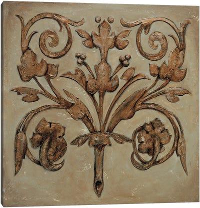 Decorative Scroll II Canvas Art Print