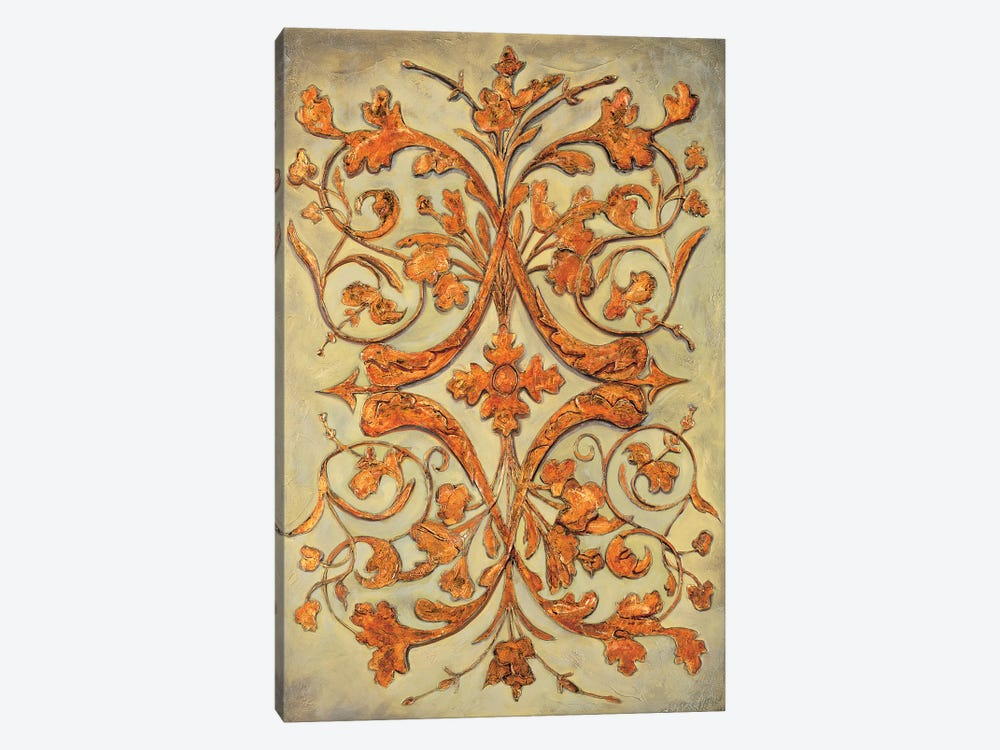 Ornamental Scroll II by Pablo Segovia 1-piece Canvas Print