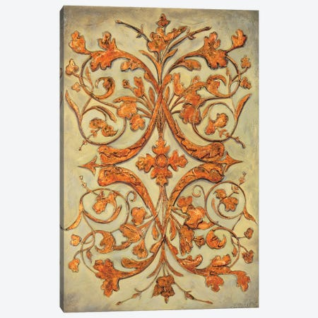 Ornamental Scroll II Canvas Print #SEG5} by Pablo Segovia Art Print