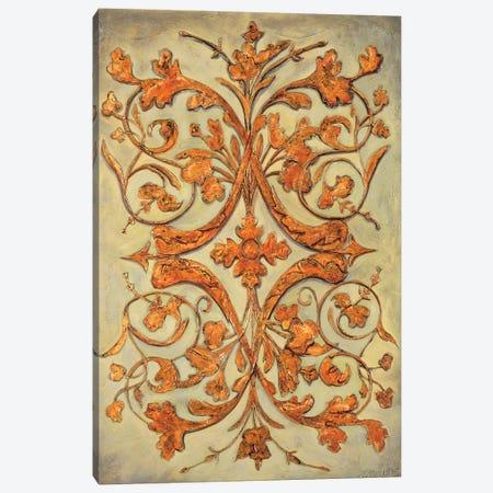 Ornamental Scroll II Canvas Print #SEG5} by Pablo Segovia Art Print